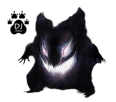 Gengar Ghost Render by DJ-Xigu