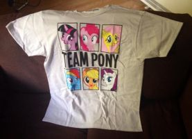 Team Pony T-Shirt by extraphotos
