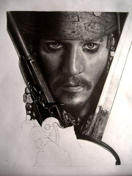 Jack Sparrow WIP3 by AndyBuck