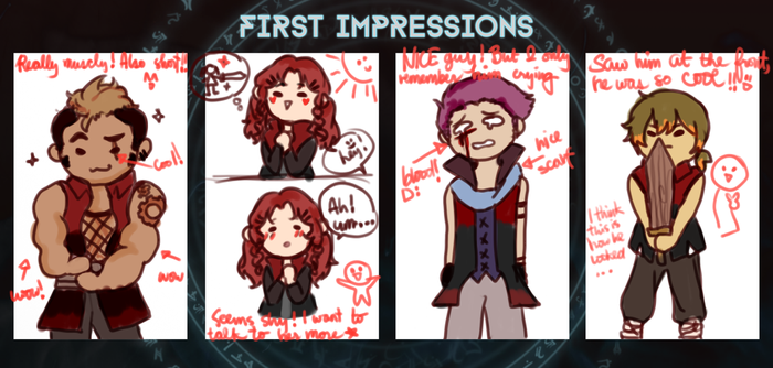EF: First Impressions by siyooon