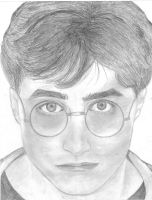 Harry Potter by girlinthehoodie
