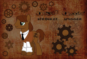 Time Lord Assistant: Sprocket Spinner by AceRome