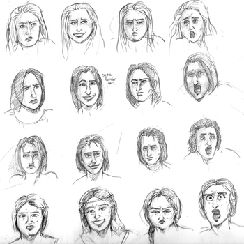 Funny Faces by Selesen