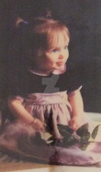 Me at 18 months old by Emilymissyou