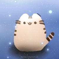 Pusheen by Lunessia