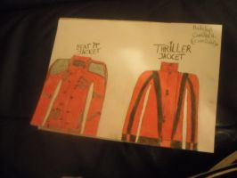 Beat it and Thriller Jacket by camilah