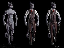 Librarian Cat - Alexey Vasilyev - new redesign by davi-escorsin
