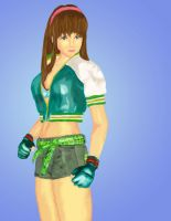 HItomi DOA4 by Chr0m4t1cCh1m3r4