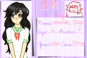 S - H : Nakada Taiga by The-Adorkable-Nerd
