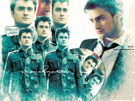 Daniel Radcliffe wallpaper by HappinessIsMusic