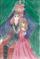 King James VI and Lady Emma by EmpressofHeaven
