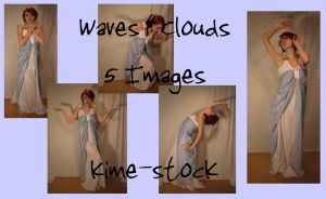 Waves and Clouds 3 by kime-stock