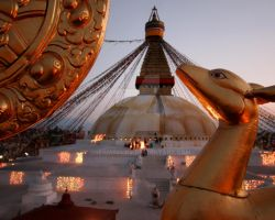 Bodnath Stupa Nepal by dreamtours