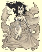 Scarlet Witch/Heroes Auction by MichaelDooney