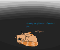 Nightmares... can one be protected from them...no by Miskipz