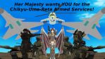 i want YOU for armed service! by sky-commander