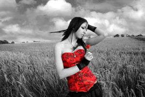 Punk in field by 365erotic