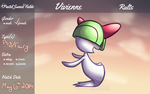 PKMNation: Vivienne the Ralts by Nickle4aPickle