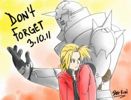 Don't forget 3.10.11 by Saku-shii