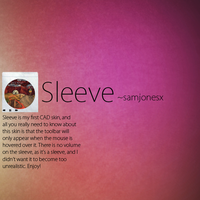 Sleeve for CAD by samjonesx