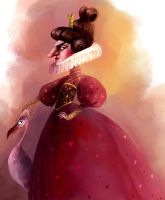 Queen of hearts by Zzanthia