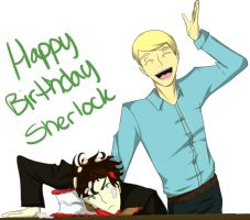 Happy 159th Birthday, Sherlock by UbiquitousCreator