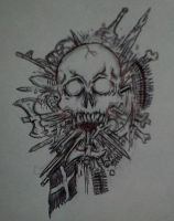 skull of arms by GraveLord138