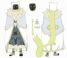 Atka: Cloak Reference by NachttOwl