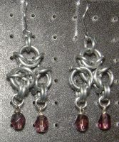 Chainmaille Earring 58 by Des804