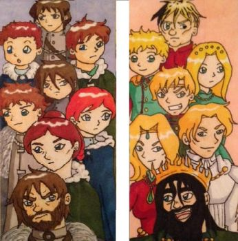 GoT Bookmark by Marle1010