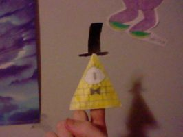 Origami Bill Cipher Puppet by UltimateComicsCanada