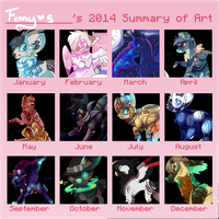 2014 Summary Of Art by Fenny-Fang