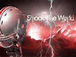 Buckeyes Shock The World Wallpaper by KevinsGraphics