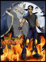 Byron Embers aka Warwolf by dj-andy