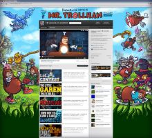 Mr.Trollham youtube background by He-st