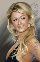 Paris Hilton by Mitia-Arcturus