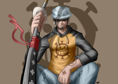 Trafalgar Law by Guibb