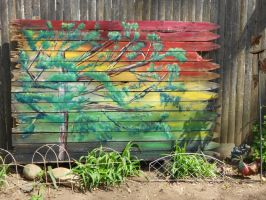 Fence installation by Abuttonpress2Nothing