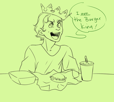 The Burger King by jack-o-lantern12