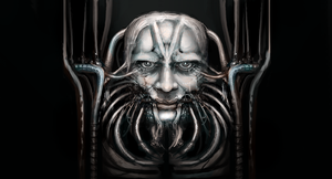 H.R. Giger by Art-Calavera