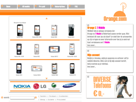 Mobile phone Site by: Rvers3 by WebMagic