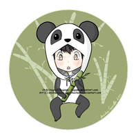 Kiriban - Chibi Panda Hugo by aninhachanhp