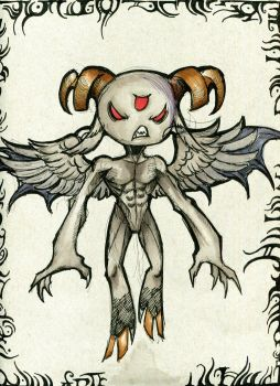 The Evil Twin - Binding of Isaac by winddragon24
