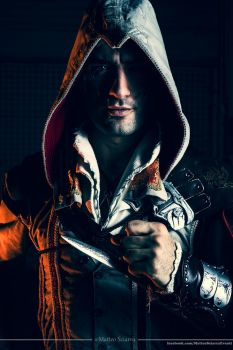 Requiescat in Pace - Ezio Auditore Cosplay by Leon by LeonChiroCosplayArt