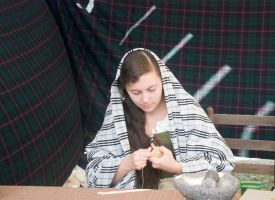 Ancient Scottish Weaving by Miss-Tbones