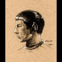 Spock by sydniart