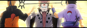 Naruto chapter 671 - Win this fight ! by Kortrex