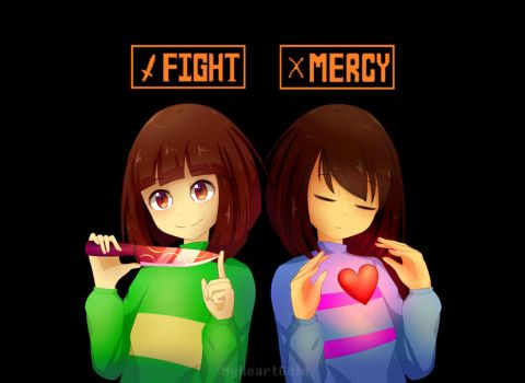 Fight or Mercy by MyHeartGold