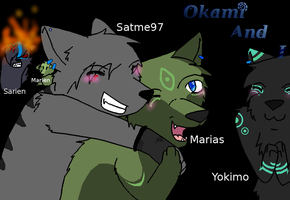 Me and Okami and I characters by satme97