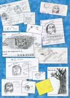 Doodle Collection A by Darianella
